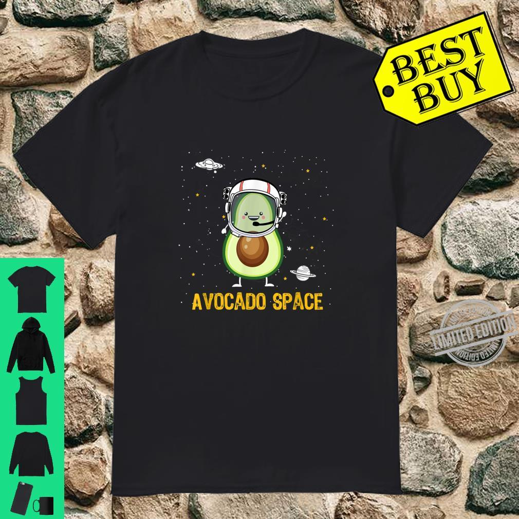 Avocado Space Astronaunt Shirt