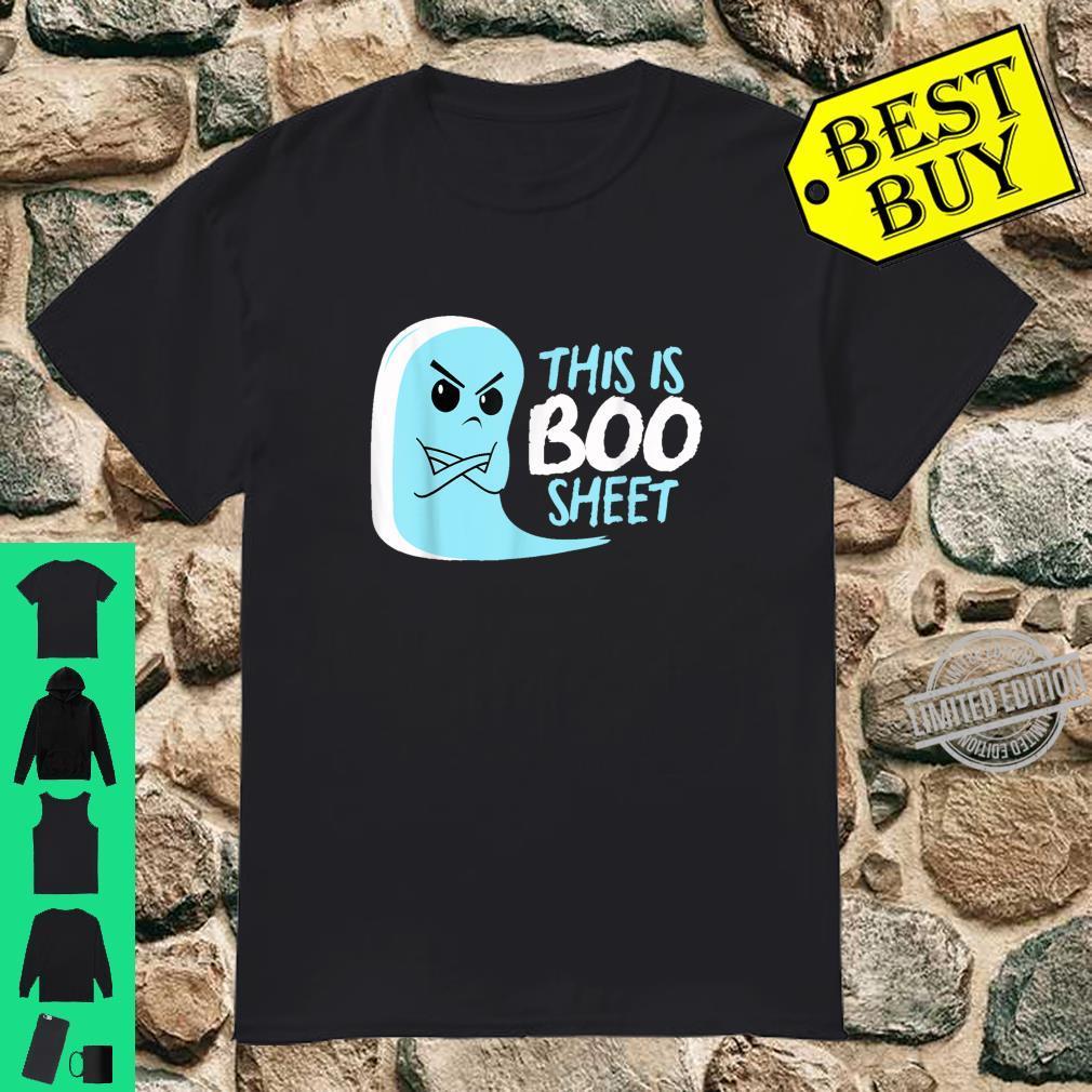 Boo Bee Laken Halloween Kostüm Lustiger Geist Shirt