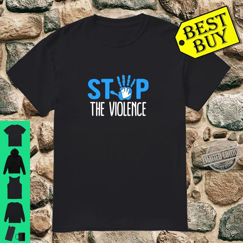 Child Abuse Prevention Month Stop The Violence Shirt