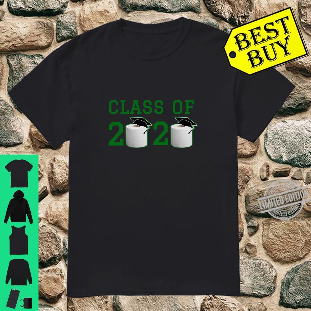 Class of 2020 Shirt Green Graduation Toilet Paper Outta TP Langarmshirt Shirt