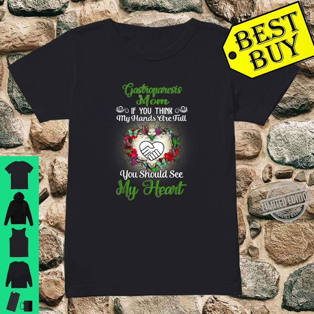 Gastroparesis mom full heart Shirt ladies tee