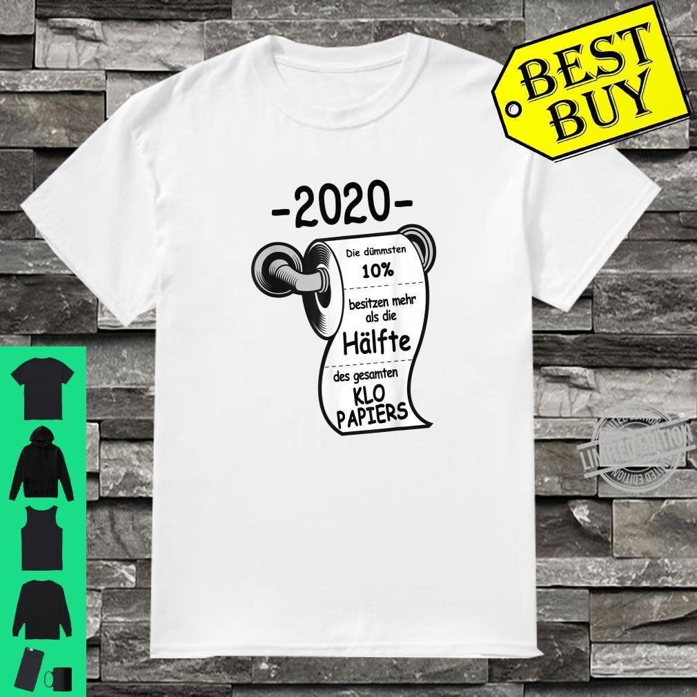 HAMSTERKÄUFE LUSTIG KLOPAPIER KLOROLLE SPRUCH Shirt
