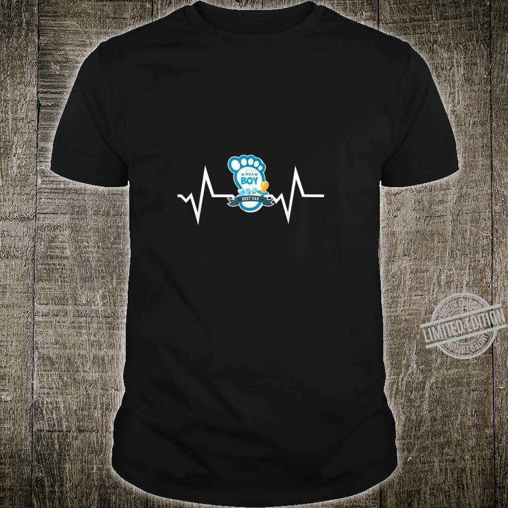 Herren Best Dad Its a Boy Vater, Dad, Papa Geschenk Idee Shirt