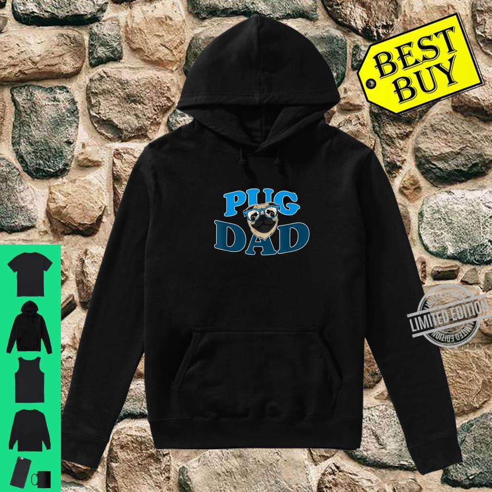Hunde Vater Mops Hund Mops Papa Lustiges Pug Dad Geschenk Shirt hoodie