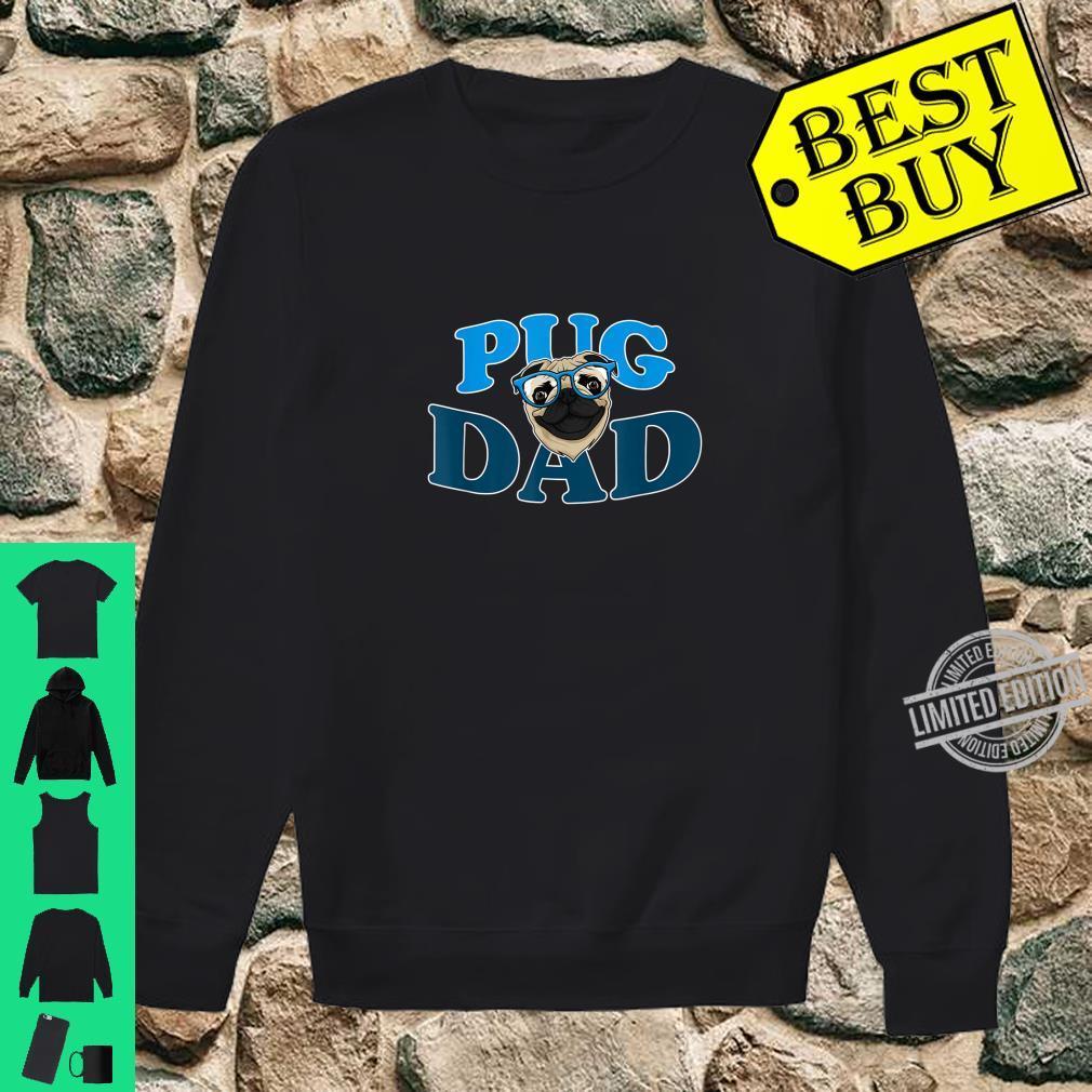 Hunde Vater Mops Hund Mops Papa Lustiges Pug Dad Geschenk Shirt sweater