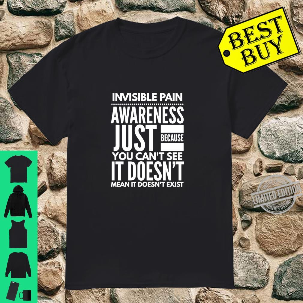 Invisible Pain Awareness Fibromyalgia Chronic Fatigue Langarmshirt Shirt