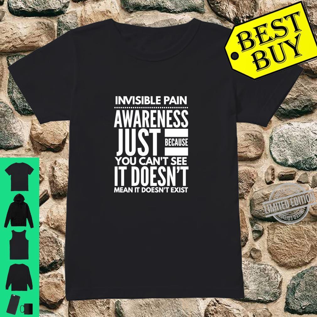 Invisible Pain Awareness Fibromyalgia Chronic Fatigue Langarmshirt Shirt ladies tee