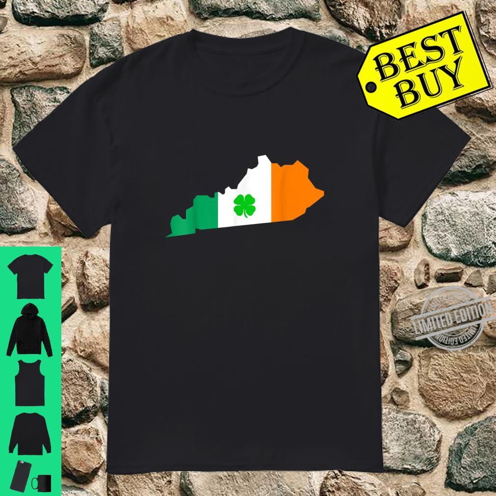 Irish Flag Kentucky State St Patrick's Day Shirt