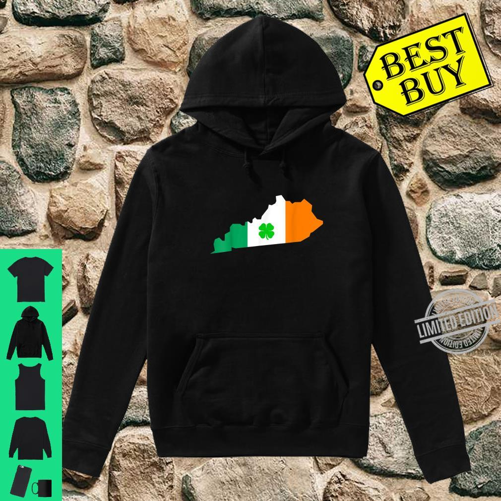 Irish Flag Kentucky State St Patrick's Day Shirt hoodie