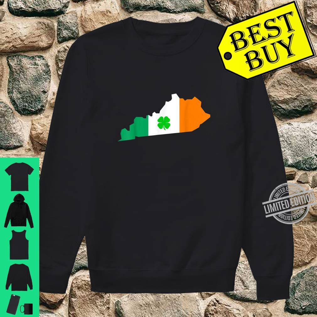Irish Flag Kentucky State St Patrick's Day Shirt sweater