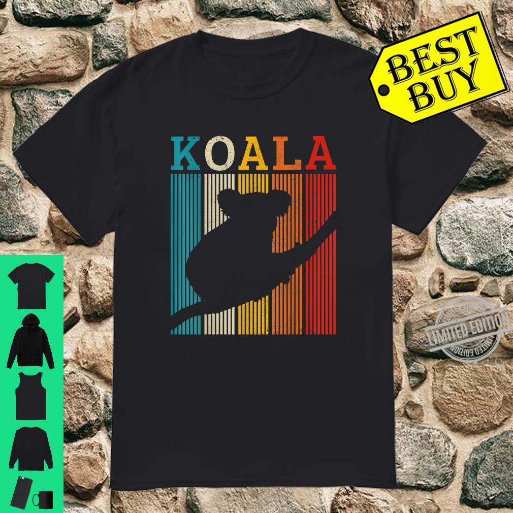 Koala Vintage Retro Cute Australian Animal Shirt