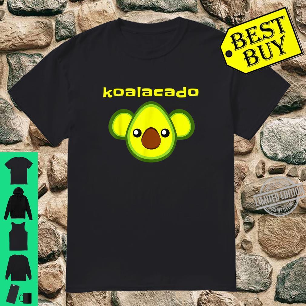Koalacado Avocado Koala Mashup Vegan Keto Design Shirt