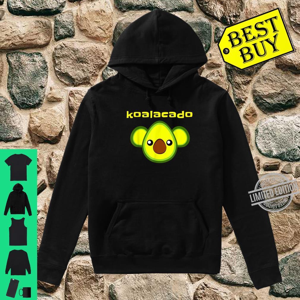 Koalacado Avocado Koala Mashup Vegan Keto Design Shirt hoodie