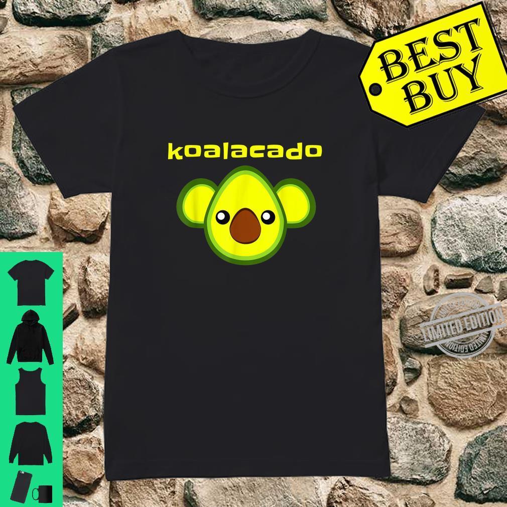 Koalacado Avocado Koala Mashup Vegan Keto Design Shirt ladies tee