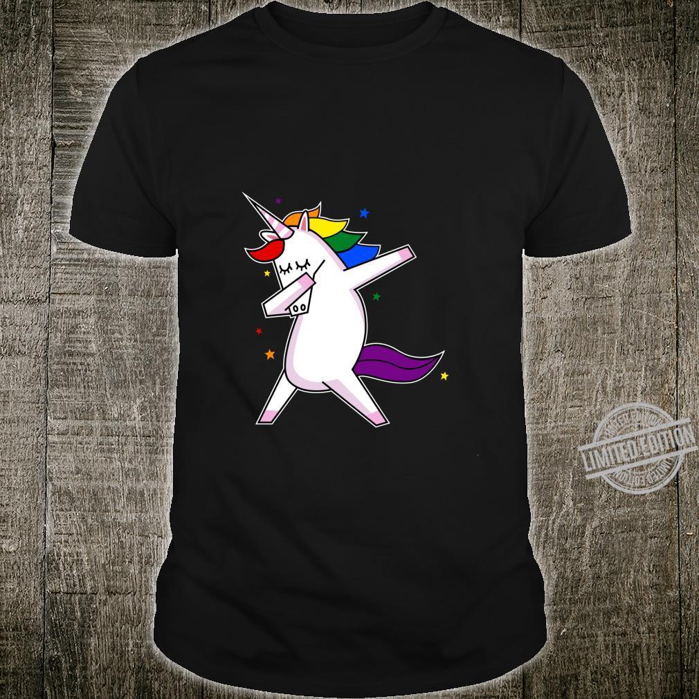 LGBT Gay Lesbian Pride Monat Einhorn Shirt