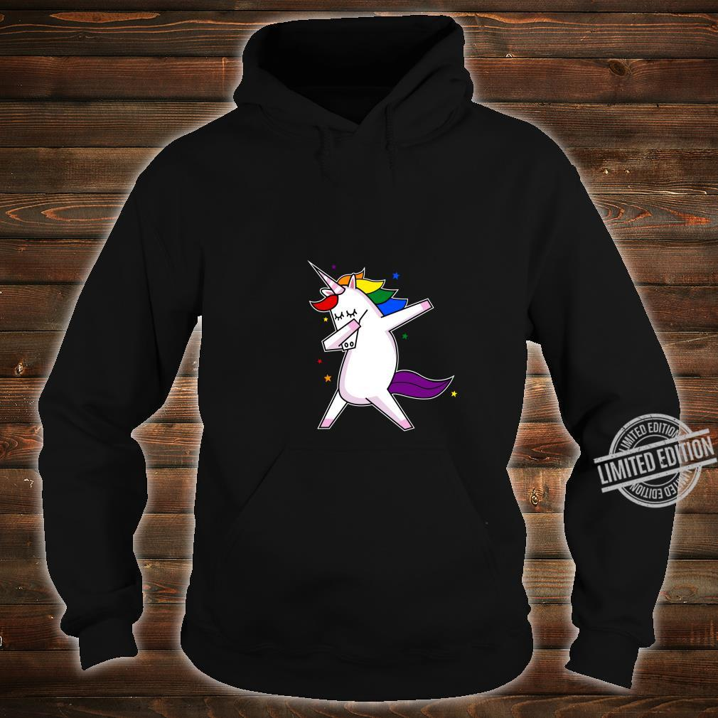 LGBT Gay Lesbian Pride Monat Einhorn Shirt hoodie