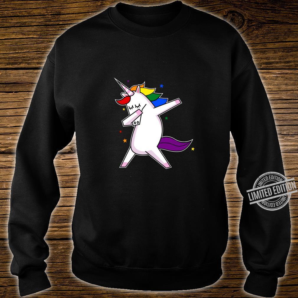 LGBT Gay Lesbian Pride Monat Einhorn Shirt sweater