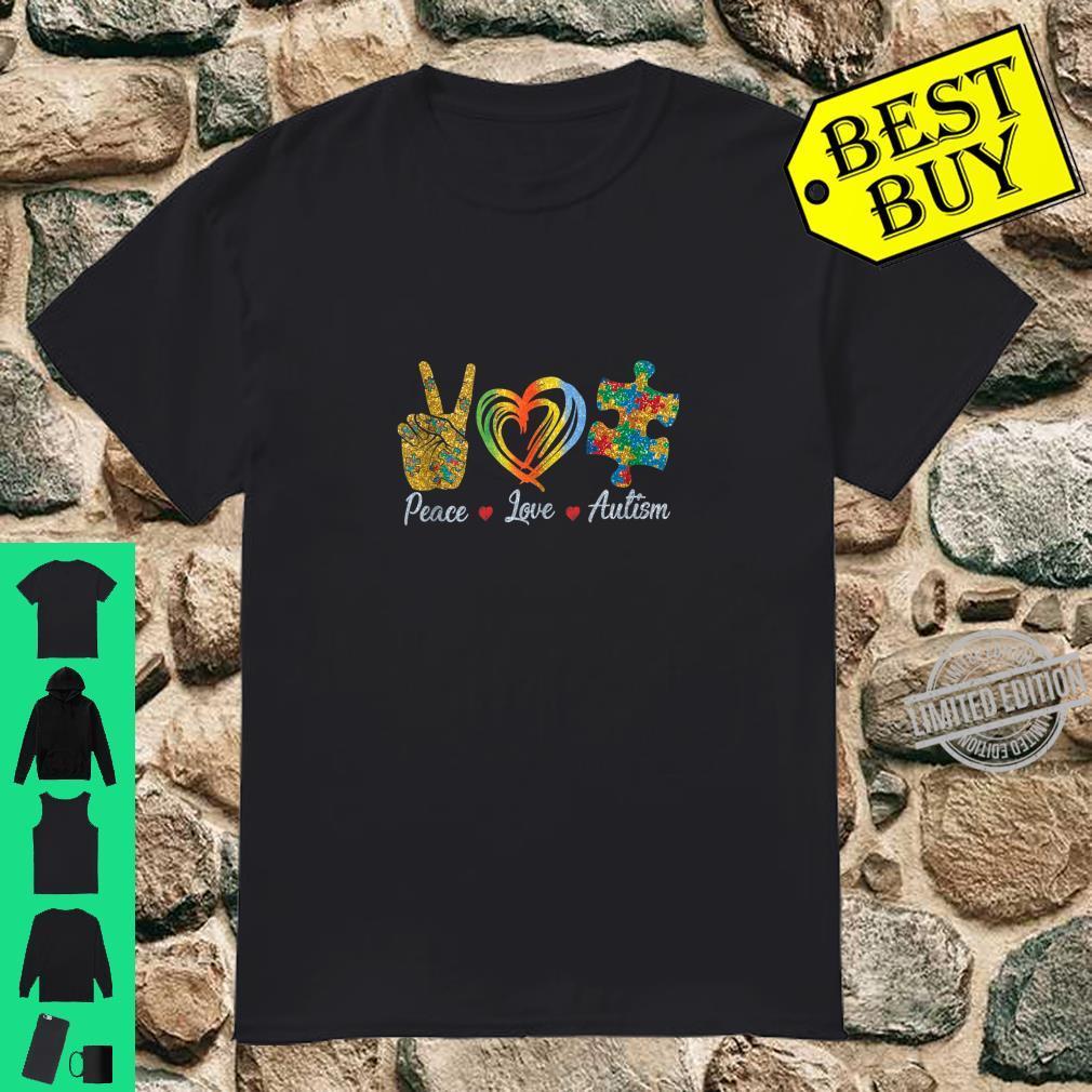 Peace Love Autism Shirt Autism Awareness Shirt