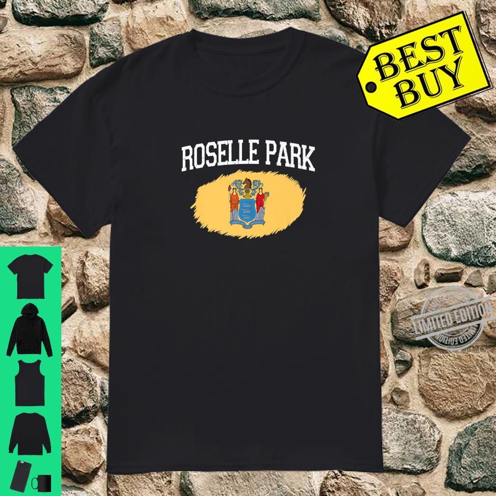 ROSELLE PARK NJ NEW JERSEY Flag Vintage USA Sports Shirt